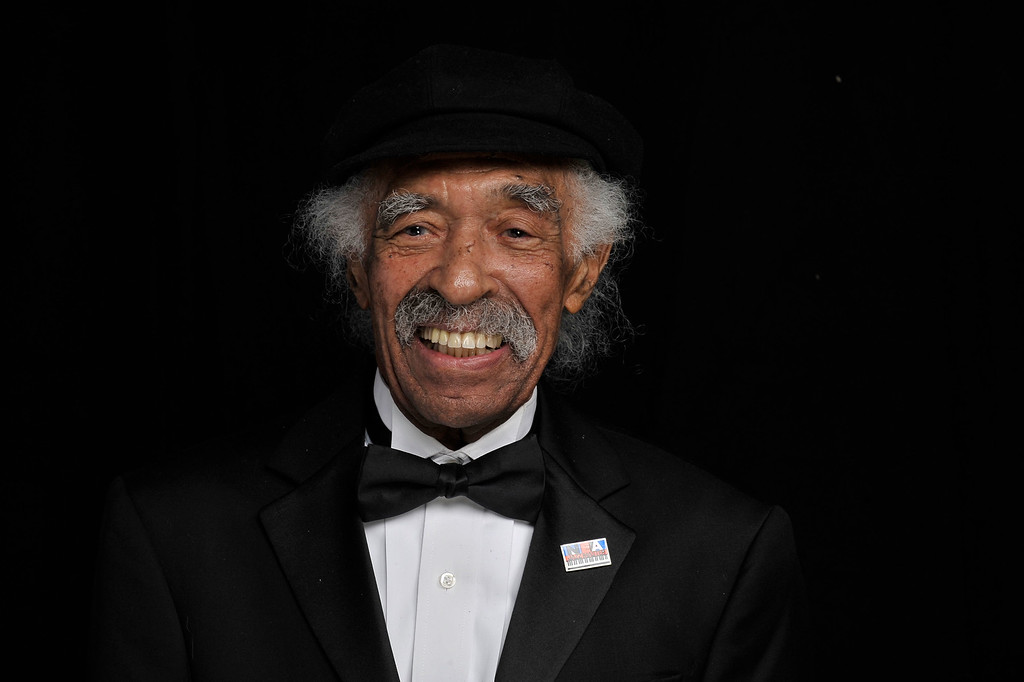 Description of . Musician Gerald Wilson poses for a portrait during the 41st NAACP Image awards held at The Shrine Auditorium on February 26, 2010 in Los Angeles, California. Wilson died on Monday, September 8, 2014. He was 96.  http://bit.ly/1mpnPzF (Photo by Charley Gallay/Getty Images for NAACP)