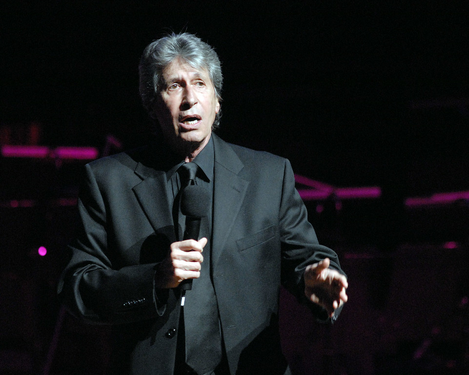 Description of . Comedian David Brenner performs at the Gala Concert where his friend, Bill Cosby, Ed.D. was presented with the Marian Anderson Award April 6, 2010, at The Kimmel Center for the Performing Arts in Philadelphia, Pennsylvania. Brenner died on Saturday, March 15, 2014. He was 78.   http://bit.ly/1pHsvAH  (Photo by William Thomas Cain/Getty Images)