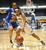 02-27-2012--(LANG Staff Photo by Sean Hiller)- Gahr vs. Agoura in Wednesday's girls basketball D3AAA title game at Anaheim Arena. Agoura's Gigi Olelewe (32) pressures Gahr's Jasmine Gates (24).