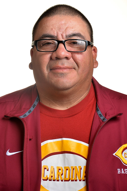 Description of . Larry Patino from Cantwell High School was selected as the Whittier Daily News All-Area Baseball Coach of the Year on Tuesday June 10, 2014. (Photo by Keith Durflinger/Whittier Daily News)