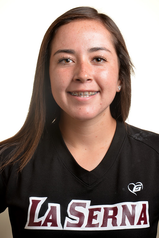 Description of . Dana De La Torre from La Serna High School was selected to the Whittier Daily News All-Area Softball team on Tuesday June 10, 2014. (Photo by Keith Durflinger/Whittier Daily News)