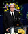 Phil Jackson speaks at the Jerry Buss Memorial Service at Nokia Theatre, Thursday, February 21, 2013. (Michael Owen Baker/Staff Photographer)