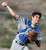 Los Altos catcher Joey Morreale throws out Diamond Bar's Zeph Walters (C) (not pictured) in the third inning of a prep baseball game at Diamond Bar High School on Wednesday, March 20, 2013 in Diamond Bar, Calif. Diamond Bar won 9-1. (Keith Birmingham Pasadena Star-News)