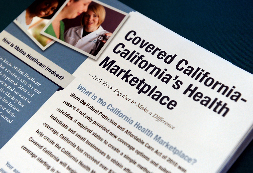 Description of . (John Valenzuela/Staff Photographer) Today kick off the first day of open enrollment for Covered CA, the marketplace for affordable, private health insurance, Molina Medical  hosted an informational event for its patients and the Inland Empire community.
