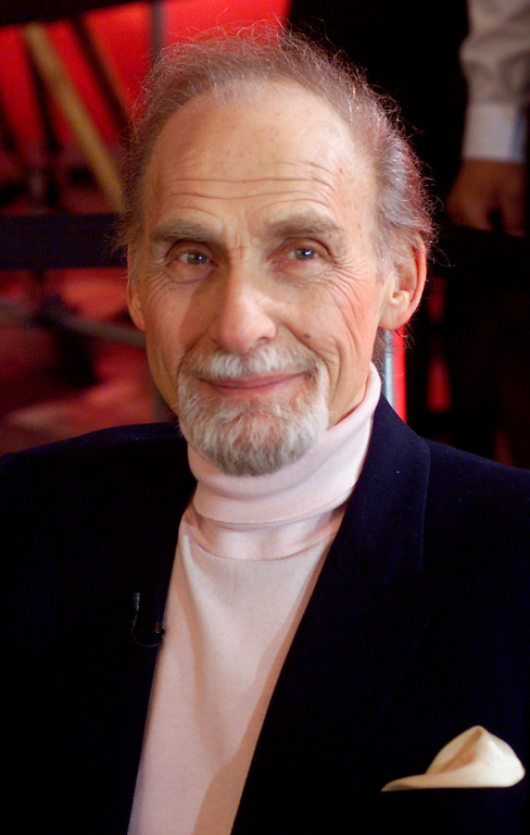 Description of . This Oct. 25, 1999 file photo shows Sid Caesar in New York. Caesar, whose sketches lit up 1950s television with zany humor, died Wednesday, Feb. 12, 2014. He was 91. http://bit.ly/1C2UWhe   (AP Photo/Richard Drew, File)