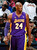 ATLANTA, GA - MARCH 13:  Kobe Bryant #24 of the Los Angeles Lakers reacts after a basket and a foul against the Atlanta Hawks at Philips Arena on March 13, 2013 in Atlanta, Georgia.  NOTE TO USER: User expressly acknowledges and agrees that, by downloading and or using this photograph, User is consenting to the terms and conditions of the Getty Images License Agreement.  (Photo by Kevin C. Cox/Getty Images)