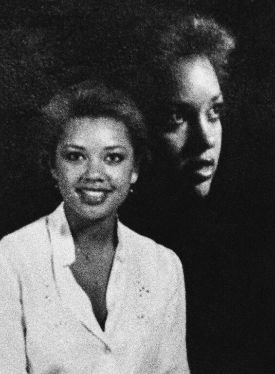 Description of . Singer, actress and former Miss America  Vanessa Williams seen in an undated photo of her as a young woman. (AP Photo)