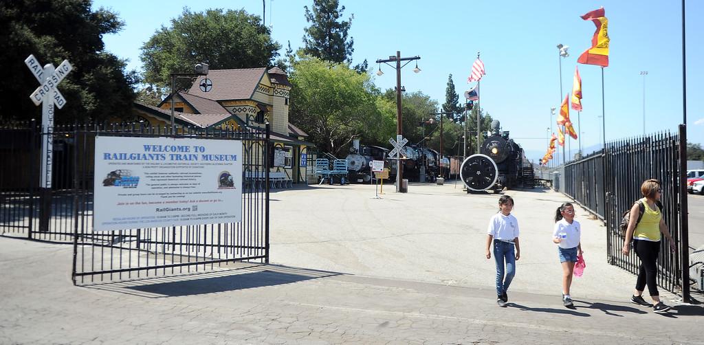 Description of . The Railgiants Train Museum during the 91st Annual L.A. County Fair in Pomona, Calif. on Thursday, Sept. 5, 2013.   (Photo by Keith Birmingham/Pasadena Star-News)