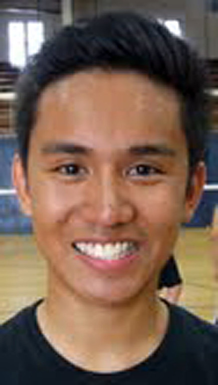 Description of . Tim Olarte of Redlands High School has been named to The Sun and Inland Valley Daily Bulletin's All-Area boy's volleyball team. Courtesy photo.