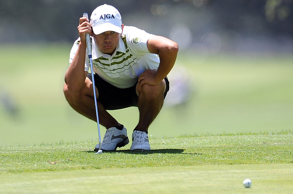 Description of . Brandon Tsujimoto of Damien High School has been named to The Sun and Inland Valley Daily Bulletin's All-Area golf team. Keith Birmingham staff photo.