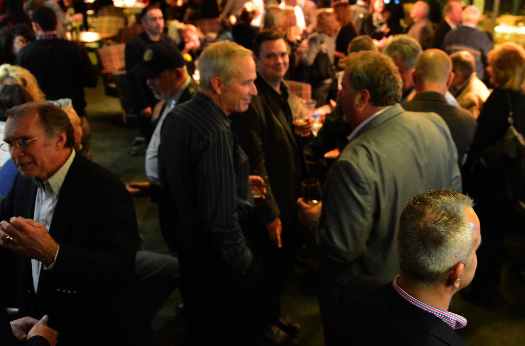 Description of . The victory party for San Bernardino Mayor-elect Carey Davis was held Tuesday night at Arrowhead Country Club. LaFonzo Carter/The Sun
