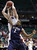 Arizona's Kaleb Tarczewski, rear, pulls down a rebound over Belmont's Blake Jenkins (2) during the first half in a second-round game in the NCAA college basketball tournament in Salt Lake City Thursday, March 21, 2013. (AP Photo/Rick Bowmer)