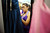 Guadalupe Chamu searches for the perfect prom dress during Operation School Bell's annual Prom Day event at the Assistance League of Los Angeles Thursday March 7, 2013.  Fifty-five homeless or needy LAUSD high school girls were able to select a dress, shoes and accessories during the event.(Andy Holzman/Los Angeles Daily News)