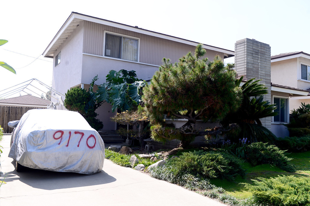 Description of . Bitcoin founder Satoshi Nakamoto lives at this Bidwell Street home in Temple City Thursday, March 6, 2014. (Photo by Sarah Reingewirtz/Pasadena Star-News)