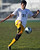 2/13/13 - Kennedy High School Ivan Martin Del Campo takes the ball down during the L.A. City Section Division I playoffs against Narbonne. Narbonne won 1-0. Photo by Brittany Murray / Staff Photographer