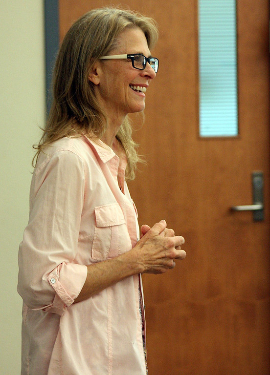 Description of . Lindsay Wagner, an Emmy Award-winning actress, is teaching Acting and Directing for Television and Film and Motion Picture Production as an adjunct faculty member at San Bernardino Valley College. (San Bernardino Valley College for The Sun)