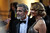 Actors George Clooney and Stacy Keibler arrives at the 85th Academy Awards at the Dolby Theatre in Los Angeles, California on Sunday Feb. 24, 2013 ( Hans Gutknecht, staff photographer)