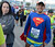 Runners wait for the start of the L.A. Marathon at Dodgers Stadium in Los Angeles March 17, 2013. (Thomas R. Cordova/Staff Photographer)