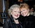 WEST HOLLYWOOD, CA - JANUARY 10: (L-R) Actresses Betty White and Bonnie Franklin attend the