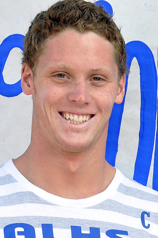 Description of . Andrew Denton has been named to the Inland Valley Daily Bulletin's All-Area Swim Team. Denton is a senior at Alta Loma High School. Courtesy photo to the Inland Valley Daily Bulletin.