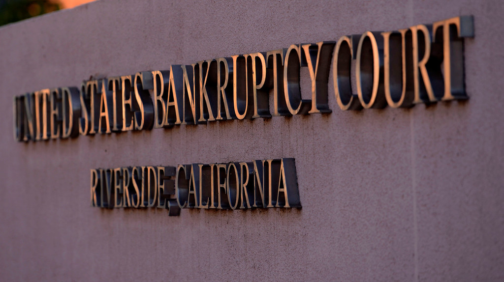 Description of . A view of the United States Bankruptcy court in Riverside August 28. 2013.  GABRIEL LUIS ACOSTA/STAFF PHOTOGRAPHER.