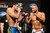 UFC fighters Lyoto Machida and Dan Henderson during weigh-ins for UFC 157 Rousey vs Carmouche at the Honda Center in Anaheim Friday, February  22, 2013.  (Hans Gutknecht/Staff Photographer)