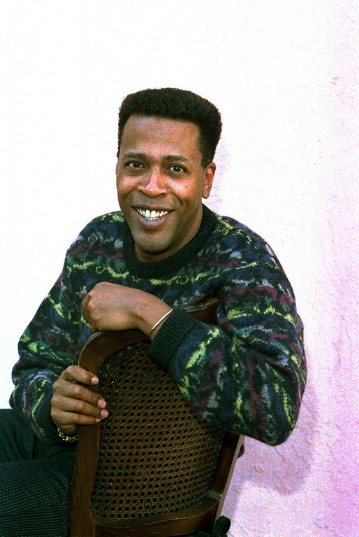 Description of . In this Jan. 30, 1989 file photo, actor Meshach Taylor poses during an interview in Los Angeles, Calif. Taylor's agent says the actor, who appeared in the hit sitcoms