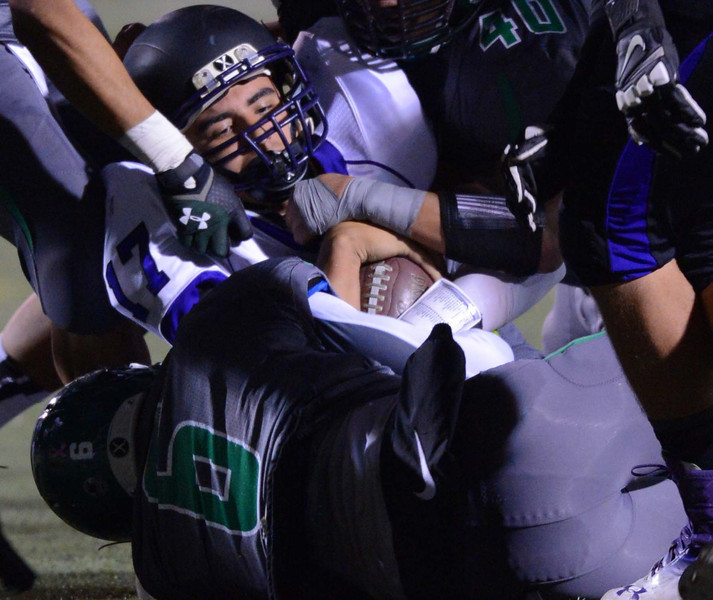 Upland High School vs Rancho Cucamonga High School during Friday night football game November 8, 2013 at Upland High School in Upland.LaFonzo Carter/ Staff Photographer