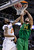 Oregon forward Arsalan Kazemi (14) dunks over Oklahoma State forward Michael Cobbins (20) during the first half of a second-round game in the NCAA college basketball tournament in San Jose, Calif., Thursday, March 21, 2013. (AP Photo/Ben Margot)
