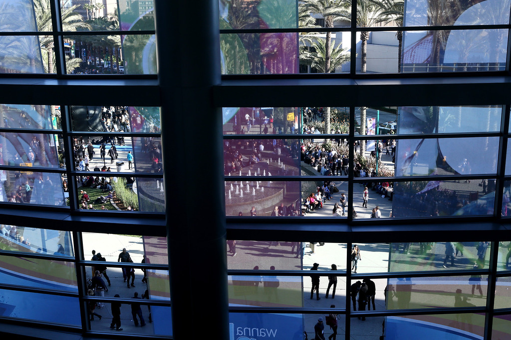 Description of . ANAHEIM, CA - JANUARY 25:  A general view of atmosphere at the 2014 National Association of Music Merchants show at the Anaheim Convention Center on January 25, 2014 in Anaheim, California.  (Photo by Jesse Grant/Getty Images for NAMM)
