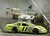 Dirt and mud fly as NASCAR Busch drivers Paul Menard, bottom, Todd Bodine, center, and Burney Lamar, top, smack up during the Stonebridgeracing.com 200  Saturday, June 3, 2006 at the Dover Speedway in Dover, Del. The drivers were not injured in the crash. (AP Photo/Chris Gardner)