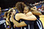 Sierra Canyon High School players celebrate their State Championship after defeating Pinewood 47-33 during the 2013 CIF State Basketball Championships at the Sleep Train Arena, in Sacramento, Ca March 22, 2013.(Andy Holzman/Los Angeles Daily News)