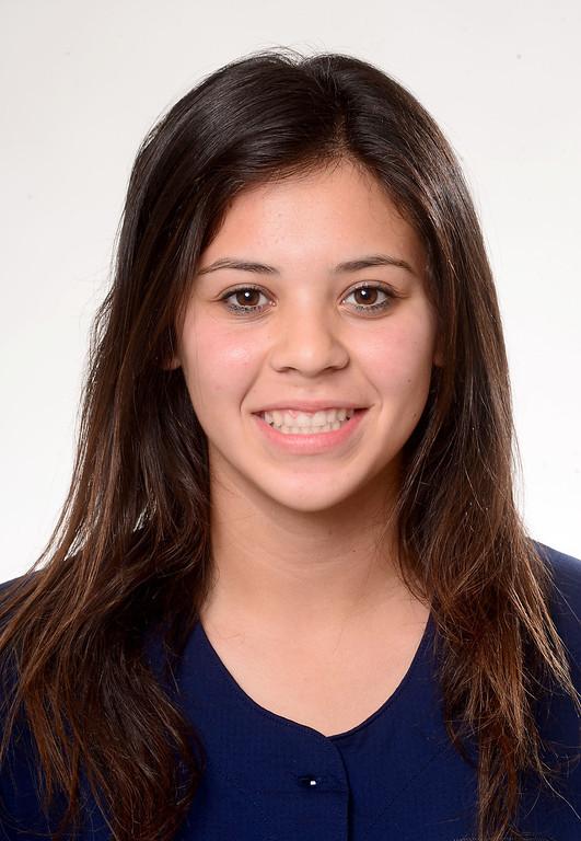 Description of . Alyssa Mendez of Chino Hills High School softball Tuesday, June 4, 2013. (SGVN/Staff Photo by Sarah Reingewirtz)