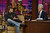 In this photo provided by NBC Universal,  Ashton Kutcher  talks with host Jay Leno, right, during a taping of the