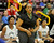 02-23-2012--(LANG Staff Photo by Sean Hiller)- Narbonne beat El Camino Real 47-39 in Saturday's L.A. City Section Division I semifinal girls basketball game. Narbonne Coach 