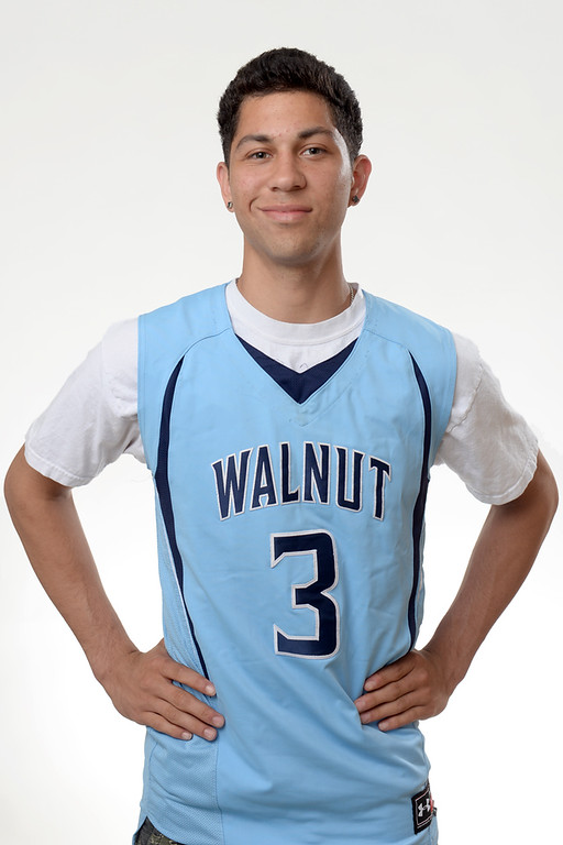 Description of . Robert Harrelson from Walnut High School was selected to the San Gabriel Valley All-Area Boys Basketball team on April 8, 2014. (Staff Photo by Keith Durflinger/San Gabriel Valley Tribune)