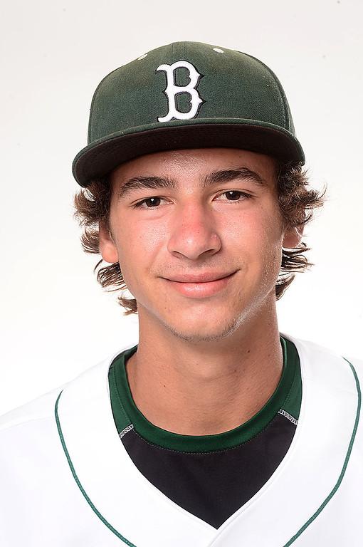Description of . Merritt Parker of Bonita High School baseball Tuesday, June 4, 2013. (SGVN/Staff Photo by Sarah Reingewirtz)