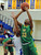 Long Beach Poly's Mahogany Brown (33) drives to the basket past Bishop Amat's Leeah Powell (15) in the second half of a CIF State Southern California Regional semifinal basketball game at Bishop Amat High School on Tuesday, March 12, 2013 in La Puente, Calif. Long Beach Poly won 52-34. 