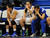 Bishop Amat bench in the second half of a CIF State Southern California Regional semifinal basketball game at Bishop Amat High School on Tuesday, March 12, 2013 in La Puente, Calif. Long Beach Poly won 52-34. 