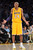 Lakers Kobe Bryant reacts to his fifth foul call during second half action at Staples Wednesday. Lakers defeated the Celtics 113-99.  Photo by David Crane/Staff Photographer
