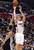 The Clippers' Blake Griffin #32 shoots as the Spurs' Boris Diaw #33 defends during their game at the Staples Center in Los Angeles Friday, February  21, 2013. The Spurs beat the Clippers 116-90. (Hans Gutknecht/Staff Photographer)