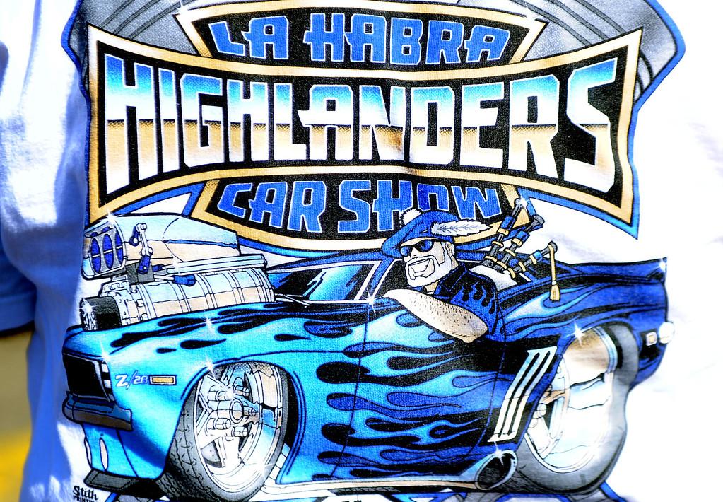 Description of . The 4th annual La Habra Highlanders car show at La Habra High School in La Habra Calif. on Saturday, Sept. 7, 2013.   (Photo by Keith Birmingham/Pasadena Star-News)