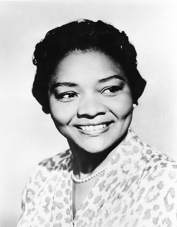 Description of . This March 31, 1960 file photo shows Juanita Moore, a groundbreaking actress and an Academy Award nominee for her role as Lana Turner's black friend in the classic weeper