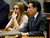 Actress Lindsay Lohan and her attorney Mark Heller listen during a hearing in Los Angeles Superior Court, Monday, March 18, 2013. Lohan accepted a plea deal on Monday in a misdemeanor car crash case that includes 90 days in a rehabilitation facility. The actress, who has struggled for years with legal problems, pleaded no contest to reckless driving, lying to police and obstructing officers who were investigating the accident involving the actress in June. (AP Photo/Reed Saxon, Pool)
