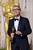 Best Performance by an Actor in a Supporting Role winner Christoph Waltz backstage at the 85th Academy Awards at the Dolby Theatre in Los Angeles, California on Sunday Feb. 24, 2013 ( David Crane, staff photographer)