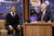 In this image released by NBC, Jamie Foxx, left, is shown during an interview with host Jay Leno on