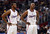 Clippers' Chris Paul #3 and Chauncey Billups #1 in the first half during their game against the Spurs' at the Staples Center in Los Angeles Friday, February  21, 2013. (Hans Gutknecht/Staff Photographer)