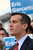 Mayoral candidate Eric Garcetti speaks at a press conference at Van de Kamp's Innovation Campus in Los Angeles, Wednesday, March 6, 2013. (Michael Owen Baker/Staff Photographer)