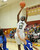 02-23-2012--(LANG Staff Photo by Sean Hiller)- Narbonne beat El Camino Real 47-39 in Saturday's L.A. City Section Division I semifinal girls basketball game. Narbonne's Lauryn Catching (10) shoots over El Camino's Sasha Samuels (32).
