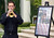 Matthew Busch, a Masters student in Performance, plays taps during a memorial service for fallen service members was held Friday May 17, 2013 in front of the Memorial Chapel at the university. The ceremony featured a special tribute to Keith Taylor, a University of Redlands alumnus and father of a University of Redlands student. He was killed serving in Iraq. (Rick Sforza/Staff photographer, Redlands Daily Facts)